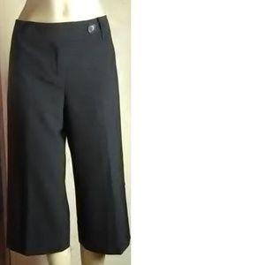 Ann Taylor Loft New Black Crop Pants Size 6